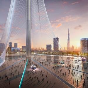 تصویر - برج جدید طراحی شده توسط سانتیاگو کالاتراوا در دبی - معماری