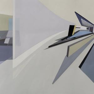 تصویر - نمایشگاه نقاشیهای زاها حدید در دوسالانه معماری ونیز - معماری