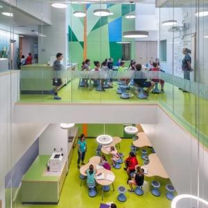 عکس - مدرسه ابتدایی Woodland , اثر تیم معماران HMFH , آمریکا