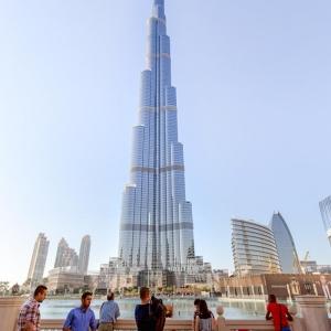تصویر - برج خلیفه ( Burj Khalifa ) ، اثر تیم معماری SOM ، امارات متحده عربی - معماری