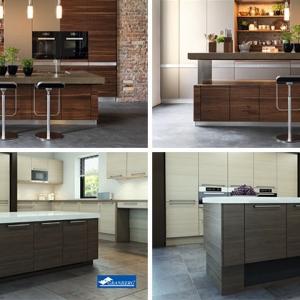 عکس - ایده های طراحی - جزیره آشپزخانه با قابلیت تنظیم ارتفاع