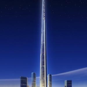 تصویر - مرتفعترین برج جهان در عربستان سعودی ساخته میشود - معماری