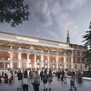 تصویر - نورمن فاستر و بازسازی موزه قرن هفدهمی دل پرادو - معماری