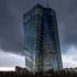 عکس - برج مرکزی فرانکفورت، نماد جدید اتحادیه اروپا شد