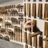 عکس - ایده ای جالب برای طراحی فروشگاه کفش