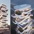 عکس - برج مسکونی Terra ، بنایی با منظر 360 درجه ، اثر تیم طراحی Orange Architects ، قبرس