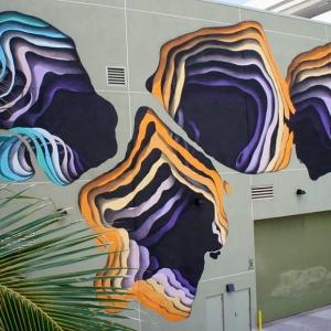تصویر - نقاشی های سه بعدی بر روی دیوار ساختمانها - معماری