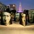 عکس - چیدمان تعاملی در یادبود قربانیان قتل عام ارامنه