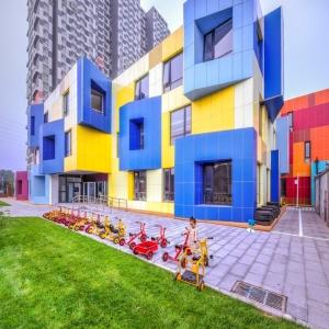 عکس - بهشت رنگ ها ، مهدکودک NO12 ، اثر تیم معماری Atelier Alter ، چین