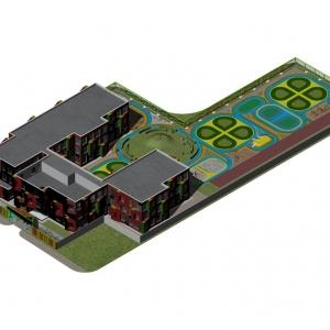 تصویر - بهشت رنگ ها ، مهدکودک NO12 ، اثر تیم معماری Atelier Alter ، چین - معماری