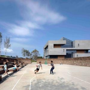 عکس - مجموعه Youth Community Center ، اثر تیم طراحی META-Project ، چین