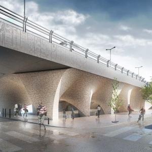 تصویر - پیشنهاد موزه مردمشناسی در معبر عمومی تهران - معماری