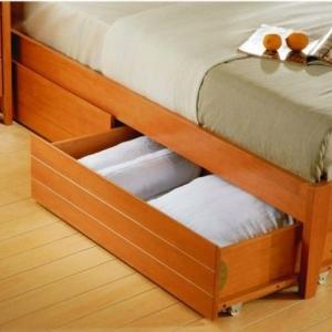 تصویر - ایده هایی برای استفاده مفید از فضای زیر تختخواب - معماری