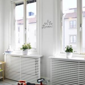 تصویر - ایده هایی برای پوشش رادیاتورها - معماری