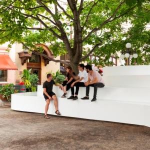 تصویر - مبلمان شهری Le Banc de Neige ،اثر آتلیه طراحی Pierre Thibault ، کانادا - معماری