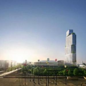 تصویر - همبستگی با طبیعت در پروژه برج باغ پاریس - معماری