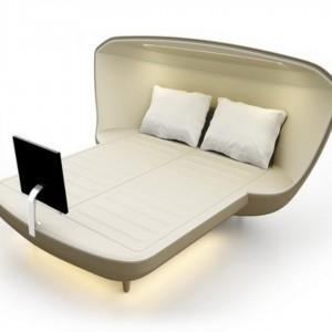 تصویر - تختخوابی از آینده (Bed Of The Future) ، اثر طراح Axel Enthoven ، سال 2013 - معماری