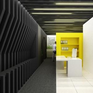 عکس - به رنگ زرد ، بازسازی دفتر مرکزی شرکت بازرگانی آی پارت ، اثر دفتر معماری هرم ، تهران
