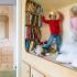 عکس - ایده های طراحی اتاق خواب کودک ،مکانی دنج برای بازی و کتاب خواندن