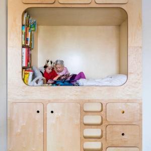 تصویر - ایده های طراحی اتاق خواب کودک ،مکانی دنج برای بازی و کتاب خواندن - معماری