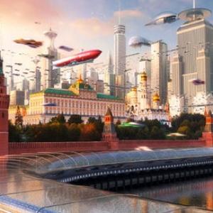 عکس - مگاسیتیهای آینده در تصویرسازی طراح روس