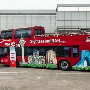 عکس - اتوبوسهای دو طبقه گردشگری در تهران