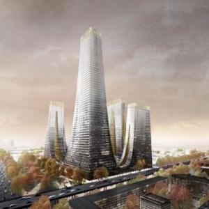 تصویر - مونومان چندمنظوره شهری در مهد تمدن چین - معماری
