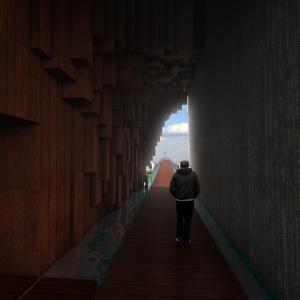 تصویر - نمازخانه بوستان عباس آباد ، اثر مهندسین مشاور فراطرح ، افشین خسرویان ، تهران - معماری