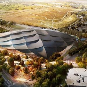 عکس - طرح پیشنهادی گوگل کالیفرنیا ( مرکز فن آوری گوگل ) با همکاری دو طراح جهانی