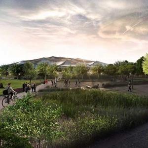تصویر - طرح پیشنهادی گوگل کالیفرنیا ( مرکز فن آوری گوگل ) با همکاری دو طراح جهانی - معماری