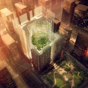 عکس - معرفی یک ایده نوآورانه در زمینه معماری پایدار