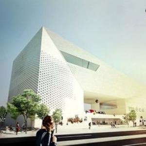 عکس - معماران بیگ و طراحی تلفیقی یک مرکز فرهنگی
