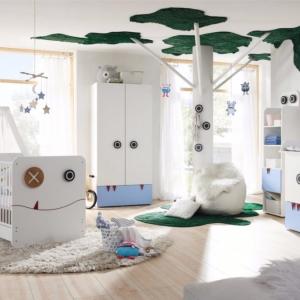 تصویر - مبلمان های متفاوت و خاص در اتاق کودکان - معماری