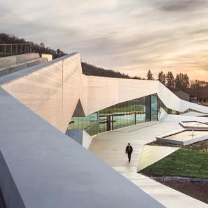 عکس - موزه Lascaux IV ، اثر تیم معماری Snøhetta و Casson Mann ، فرانسه