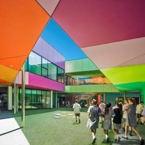 عکس - مدرسه ابتدایی Ivanhoe ، اثر تیم طراحی McBride Charles Ryan ، استرالیا