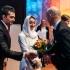 عکس - طراح ایرانی جایزه بین المللی خود را دریافت کرد
