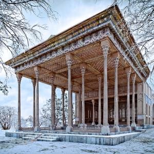 تصویر - بازسازی دیجیتالی کاخ آینه اصفهان توسط محمد یزدی راد - معماری