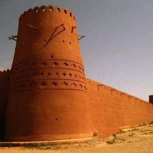 تصویر - ارگ گوگد ، اثری ملی در گلپایگان (دومین سازه خشتی ایران) - معماری