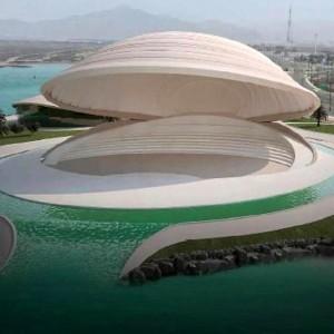 عکس - سالن نمایش شناور ، امارات متحده عربی ، شارجه