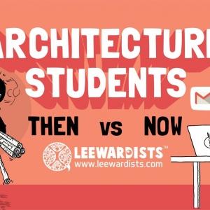 عکس - دانشجویان معماری در گذر زمان