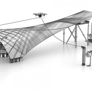 عکس - ربات و پهپاد به کمک معماران میآیند