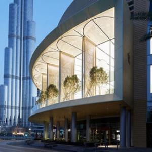 تصویر - نسخه اماراتی کمپانی اپل افتتاح شد - معماری