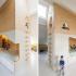عکس - طراحی اتاق خواب کودک با دو تخت و فضای بازی