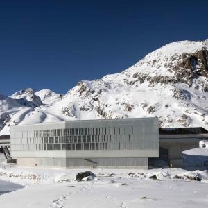 عکس - تله کابین 3S Eisgratbahn ، اثر تیم طراحی ao-architekten ، اتریش