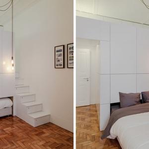 عکس - طراحی داخلی یک آپارتمان کوچک