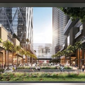 تصویر - کانسپت روستای عمودی ، اثر مشاور طراحی ( Skidmore Owings & Merrill ( SOM ، بانکوک - معماری