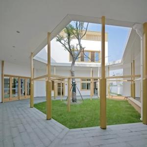 تصویر - مهد کودک دوزبانه وابسته به East China Normal University ، اثر تیم طراحی Scenic Architecture Office ، چین - معماری