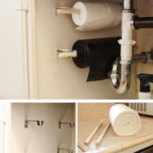 تصویر - راهکارهایی برای سازماندهی مفید کابینت زیر سینک ظرفشویی - معماری