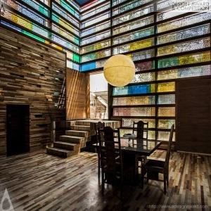 عکس - خانه ایرانی برنده یک جایزه بینالمللی شد.
