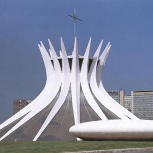 عکس - کلیسای جامع برزیلیا ، اثر معماران Oscar Niemeyer ، برزیل